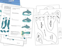 dolphin sewing pattern instructions