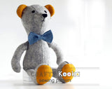 Teddy Bear  - Soft toy sewing pattern - instant download pdf
