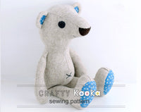 bear sewing pattern