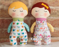 baby rag doll sewing pattern