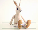 bunny soft toy sewing pattern