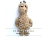 Llama sewing pattern - instant download pdf