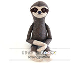 sloth pattern download pdf