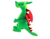 dragon plush sewing pattern