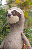 sloth plush pattern