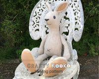 plush bunny sewing pattern