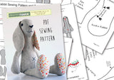 Easter bunny sewing pattern instructions