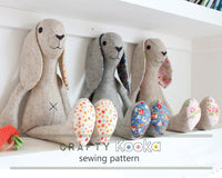 pdf plush bunny pattern
