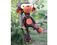 Stuffed Monkey  - Soft toy sewing pattern - instant download pdf