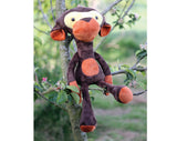 Monkey  - Soft toy sewing pattern - instant download pdf