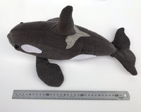Orca Whale - Soft toy sewing pattern - instant download pdf