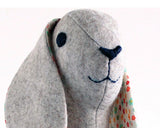 soft toy rabbit pattern