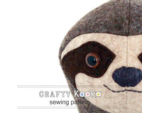 sloth sewing pattern pdf