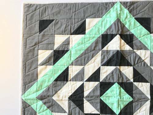 Arrowhead Mint - Custom Quilt