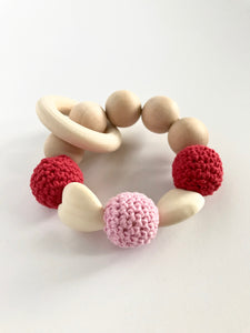 Sweetheart Wooden Teether