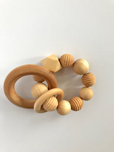 Maple Baby Teether - Textured