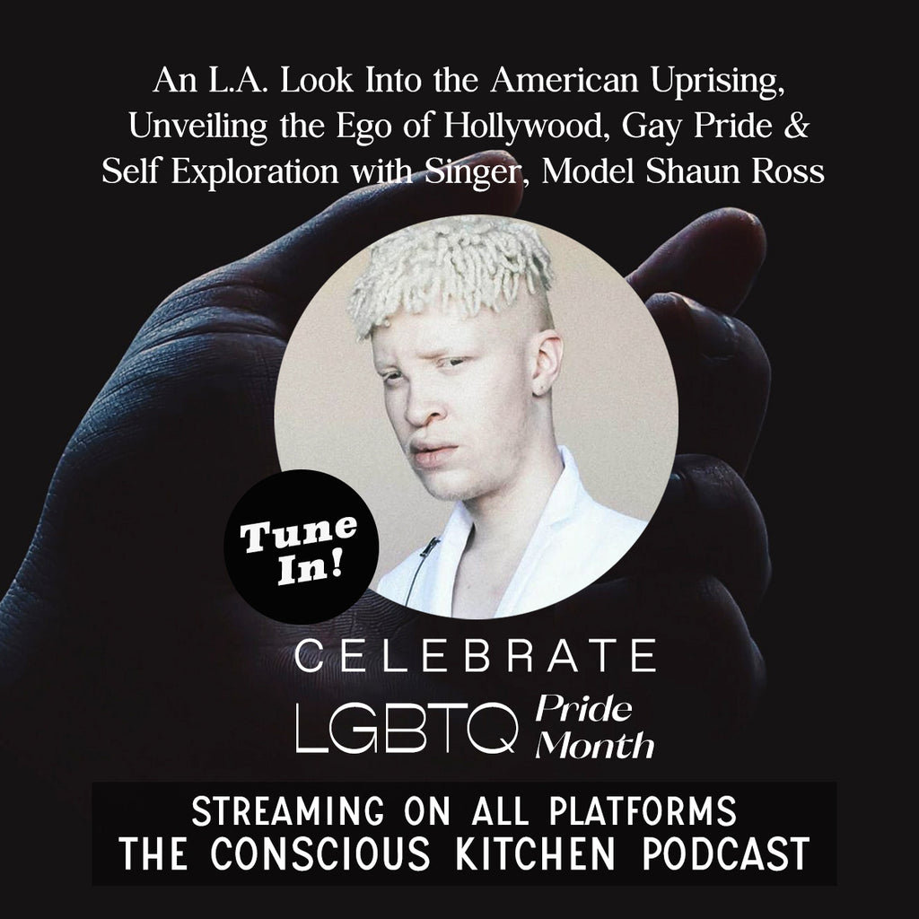 An L.A. Look Into the American Uprising, Gay Pride & Self Exploration with Model Shaun Ross