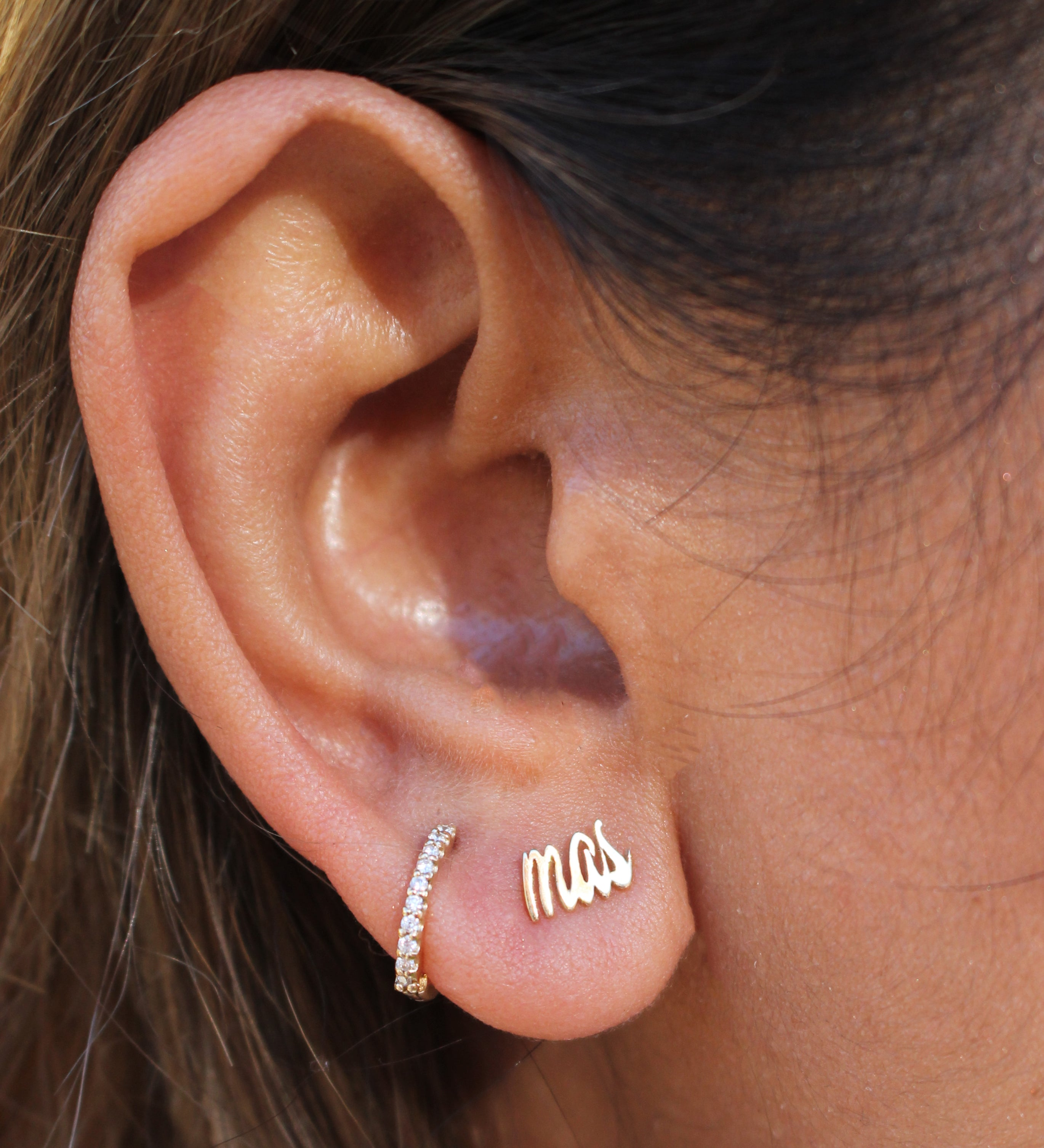 Mas Plantas 14K Recycled Gold Earrings