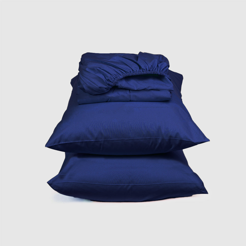 Sateen Fitted Sheet Set