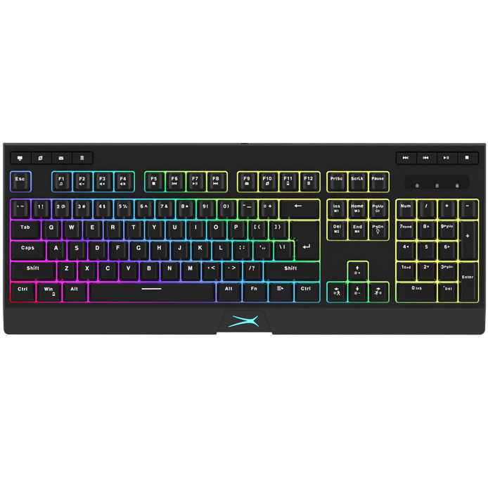 M270 Membrane LED Lit Gaming Keyboard