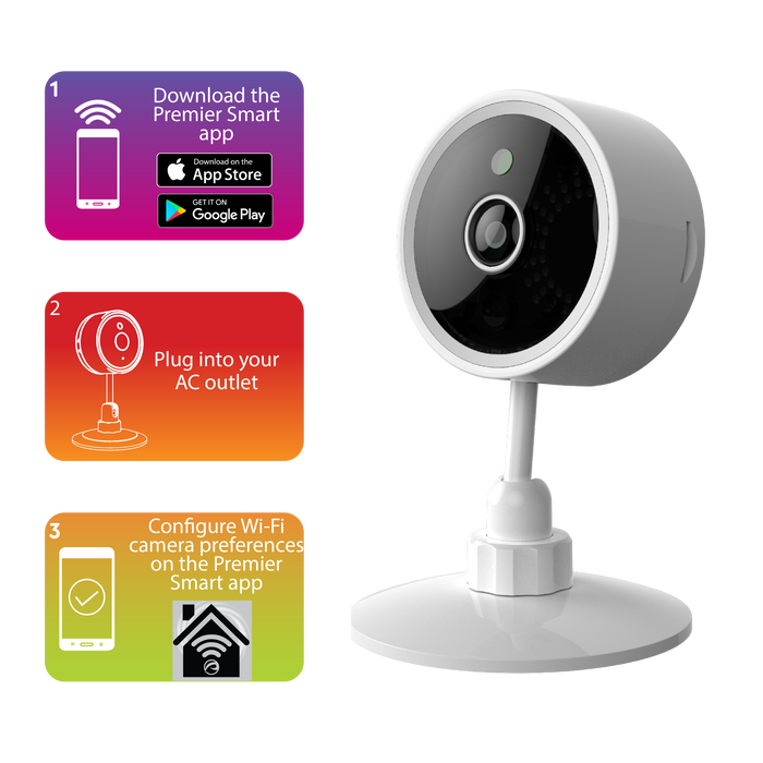 Smart WIFI HD Security Camera