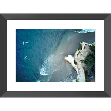 Three Surfers Framed Print - Lost Above