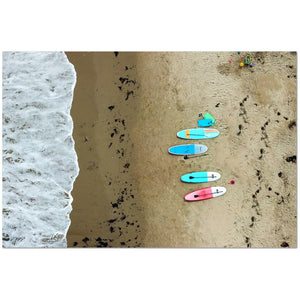 Paddle Boards on the Beach