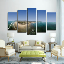 Coal Oil Point 5 Panels Canvas Prints