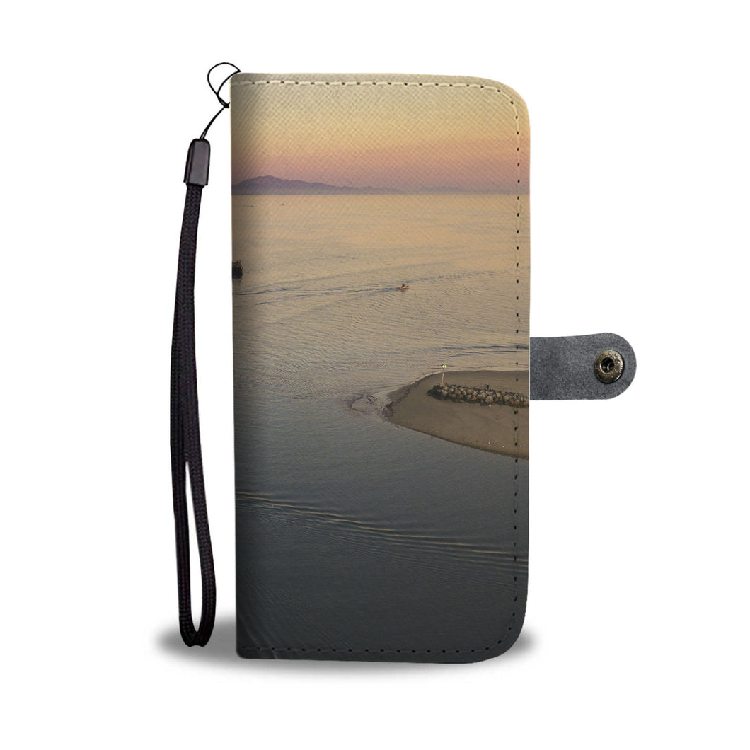 Sunset and Wharf Cell Phone Case - Lost Above