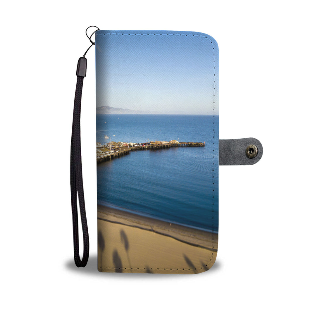 Palm Trees and Wharf Cell Phone Case - Lost Above