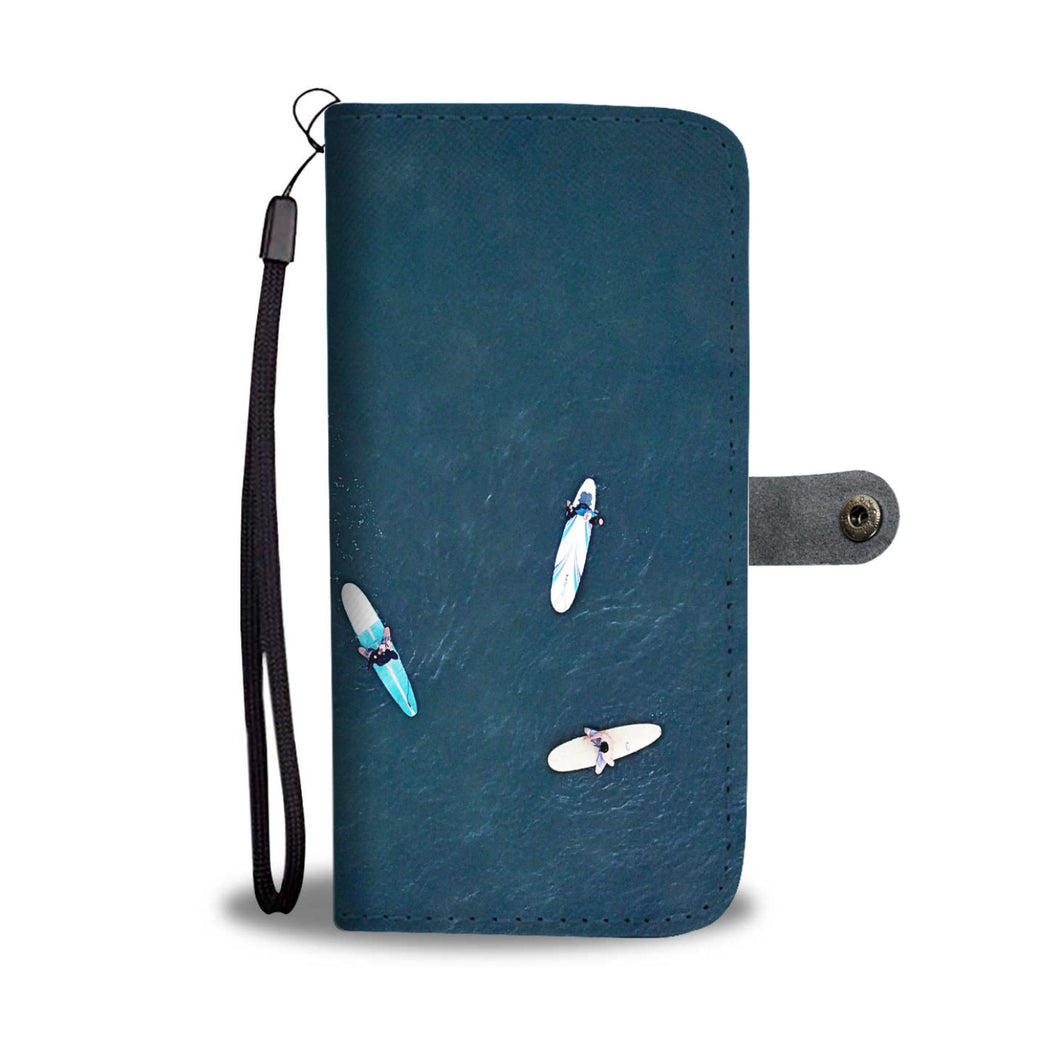 Three Surfers Cell Phone Case - Lost Above