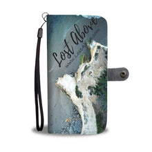 Three Surfers and Cliffs Cell Phone Case - Lost Above