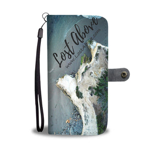 Three Surfers and Cliffs Cell Phone Case