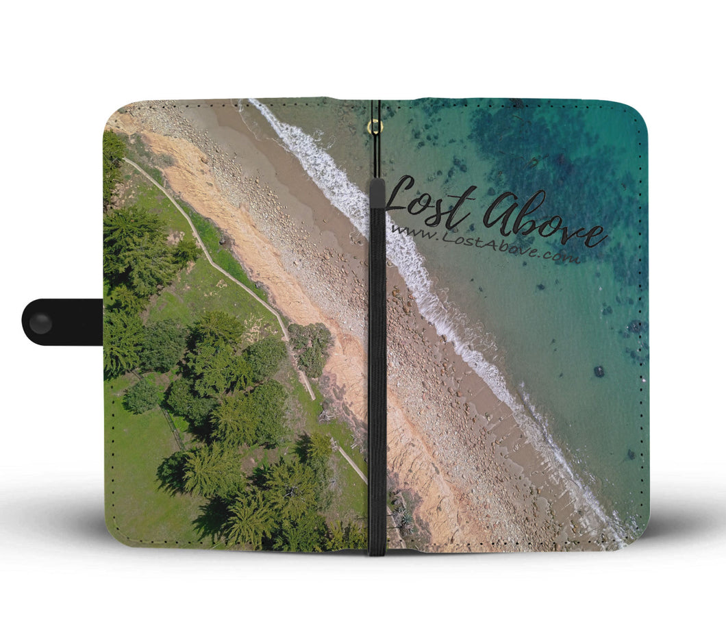 Butterfly Beach Cell Phone Case