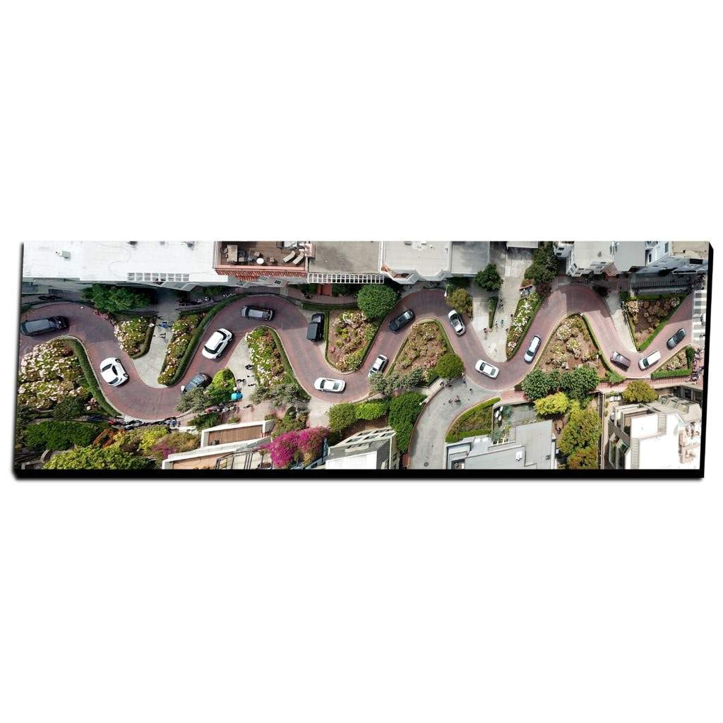 Lombard Street Panorama - Lost Above