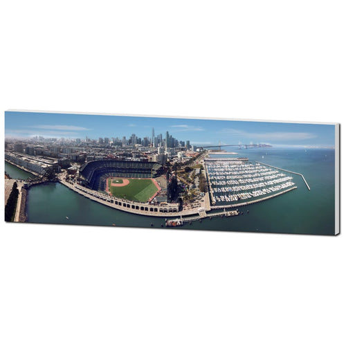 AT&T Park SF City Scape - Lost Above