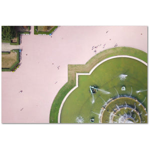 Buckingham Fountain from Above