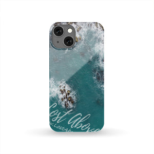 Blue Water and Rocks Cell Phone Case - Lost Above
