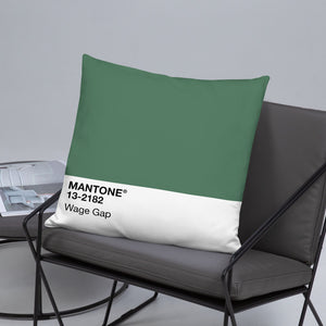 Wage Gap - Throw Pillow