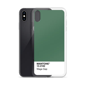 Wage Gap - iPhone Case