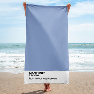 Rush-Hour Manspread - Beach Towel