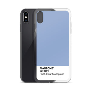 Rush-Hour Manspread - iPhone Case