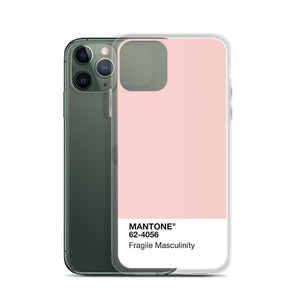 Fragile Masculinity - iPhone Case