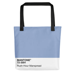 Rush-Hour Manspread - Tote Bag
