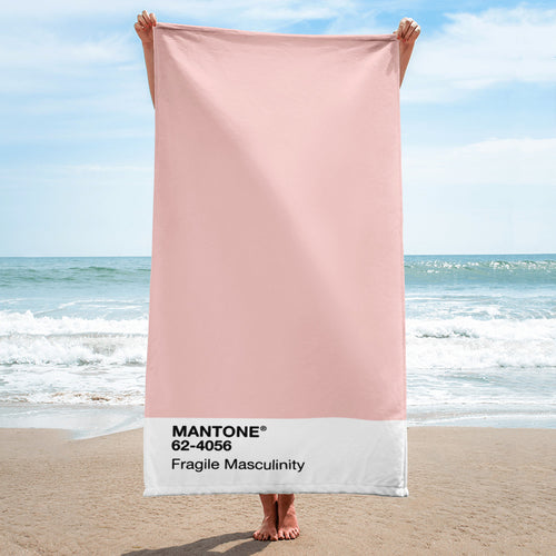 Fragile Masculinity - Beach Towel