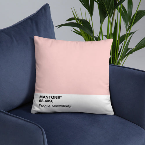 Fragile Masculinity - Throw Pillow