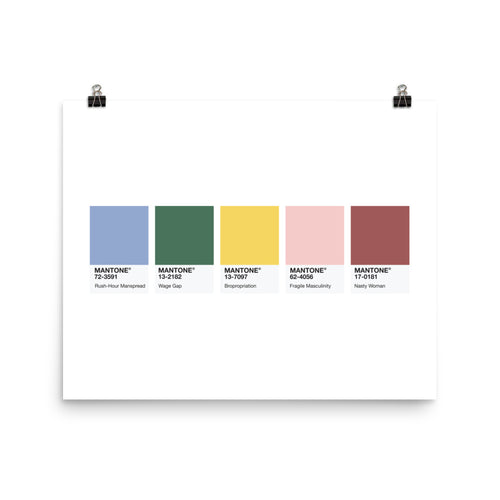 Colour Palette - Poster
