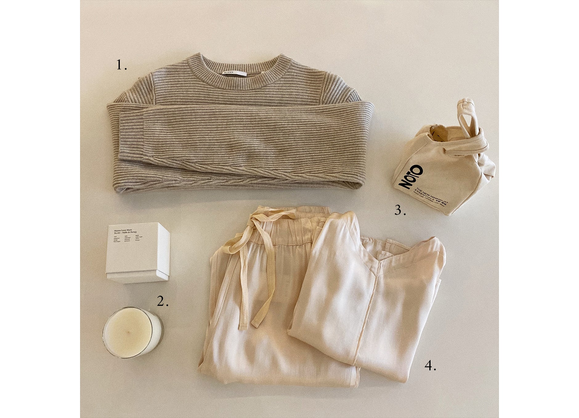 beige holiday gift guide