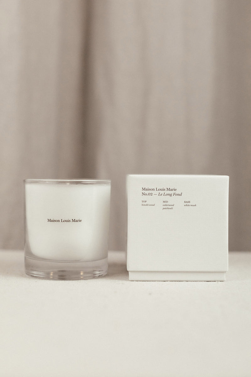 MAISON LOUIS MARIE NO. 02 LE LONG FOND CANDLE