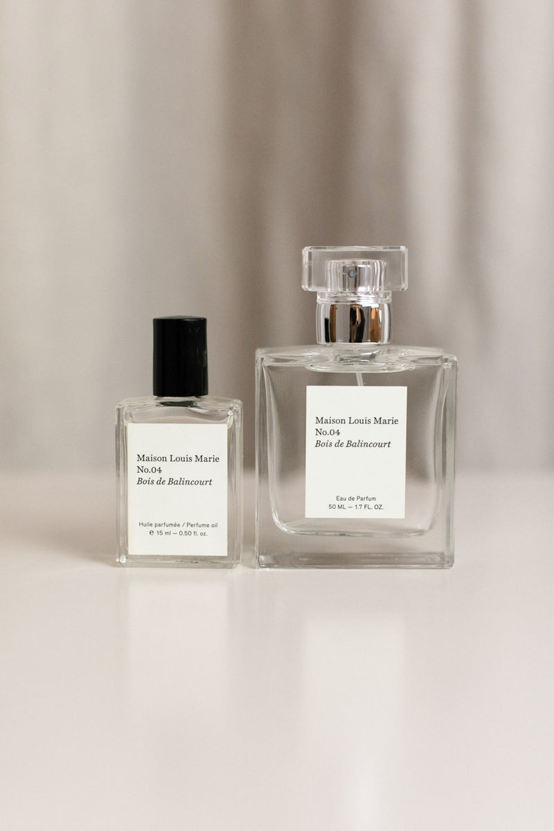 MAISON LOUIS MARIE NO. 04 BOIS DE BALINCOURT PERFUME ROLL ON OIL